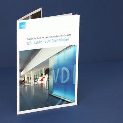 Imagebroschüre VDI zum 125-jährigen Jubiläum