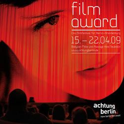 Festivalplakat und Katalogtitel 2009