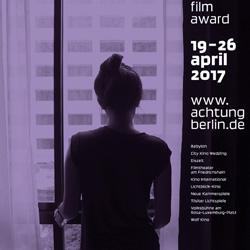 Festivalplakat und Katalogtitel 2017