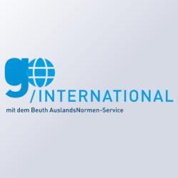 go international mit dem AuslandsNormen-Service